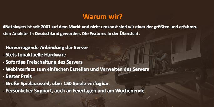 Netplayersde GameserverTeamspeak ServerCounterstrike - Minecraft server webinterface erstellen